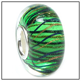 Sea Weed Glass Bead