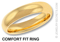 Comfort Fit Ring