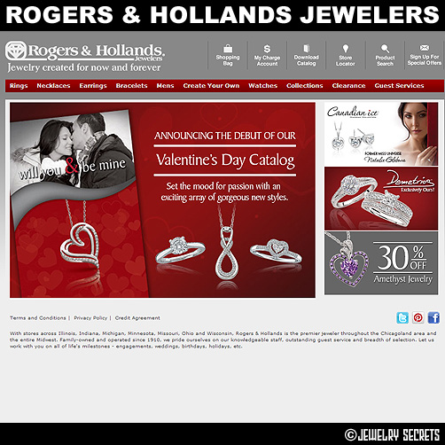 Rogers and Hollands Jewelers