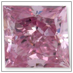017 Carat Fancy Intense Purplish Pink Diamond
