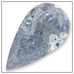 019 Carat Fancy Light Blue Diamond