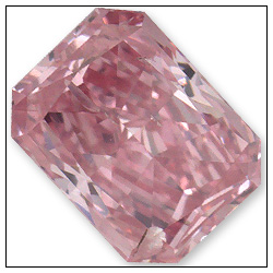 038 Carat Fancy Intense Purplish Pink Diamond