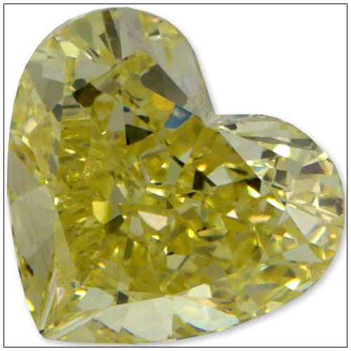 052 Carat Fancy Yellow Diamond