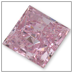056 Carat Fancy Intense Pink Diamond