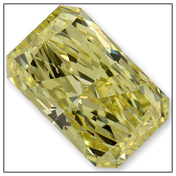 060 Carat Fancy Yellow Diamond