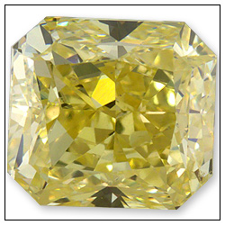 100 Carat Fancy Yellow Diamond
