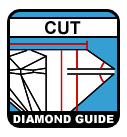 Diamond 4Cs Cut Guide