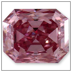 53 Point Fancy Intense Purplish Pink Diamond