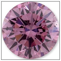 64 Point Fancy Intense Purplish Pink Diamond