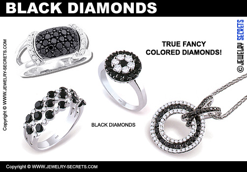 Black Fancy Diamonds