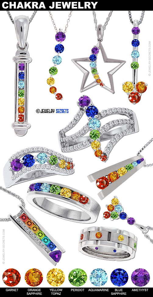 Cool Colorful Chakra Gemstone Jewelry