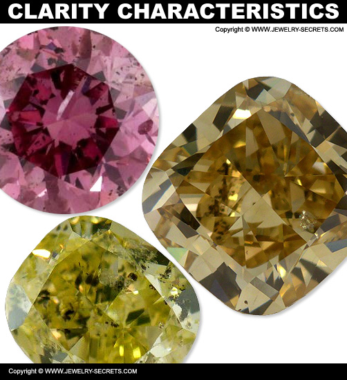 Fancy Color Diamond Clarity Characteristics