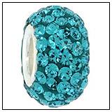 Fern Green Swarovski Crystal Bead