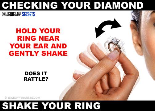 Gently Shake Your Diamond Ring