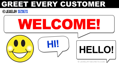 Greet Every Customer