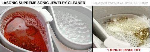 Lasonic Jewelry Cleaner from Walmart