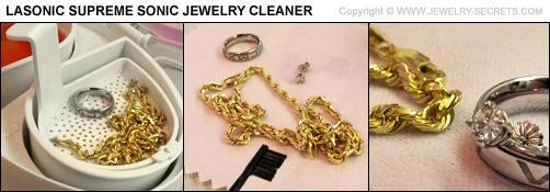 Lasonic Jewelry Cleaner Clean Jewelry