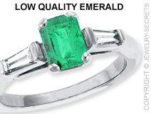 Low Quality Emerald
