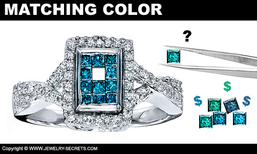 Matching Colored Diamonds Gets Expensive