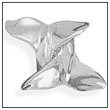 Whale Tails Bead
