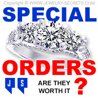 Should you Special Order Jewelry?