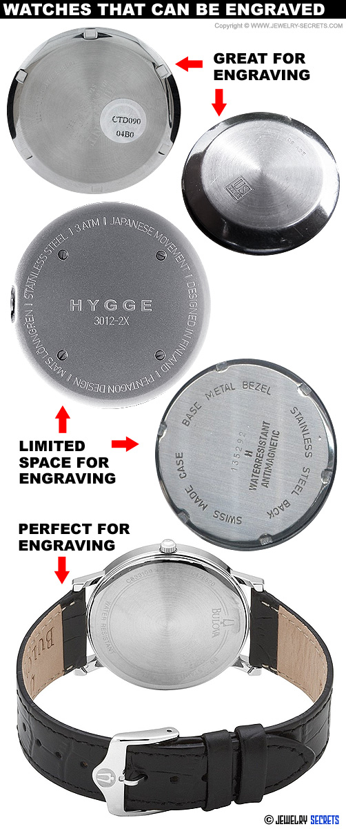 Watches that Can be Engraved!