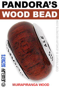 Pandora Muirapiranga Wood Bead!